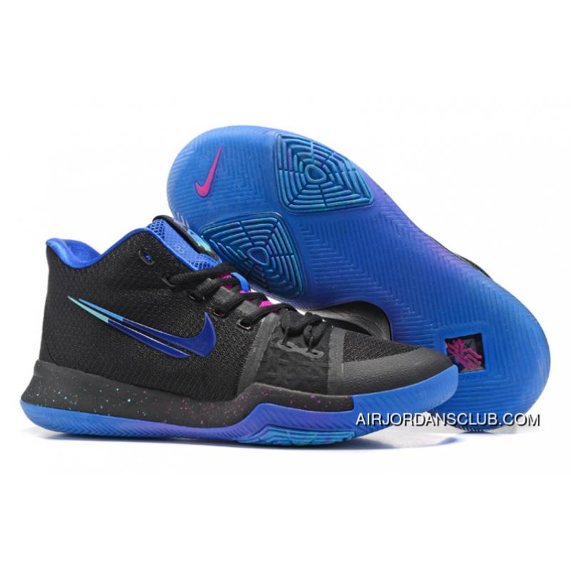 best loved 54f6c 362e9 852395-003 Nike Kyrie 3 Flip The Switch Black/Deep Royal Blue-Photo Blue  For Sale